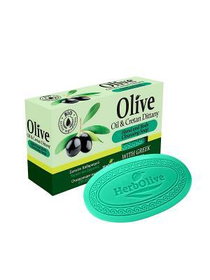 ГЕРБОЛИВ Натуральное оливковое мыло с диктамосом (критская душица). Вес: 90гр Madis S.A.. Цвет: оливковый
