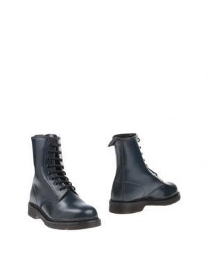 Полусапоги и высокие ботинки POLICE 883. Цвет: цвет морской волны