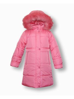 Пальто Артус. Цвет: розовый