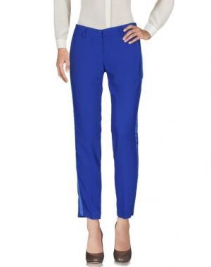 Повседневные брюки HH COUTURE. Цвет: ярко-синий