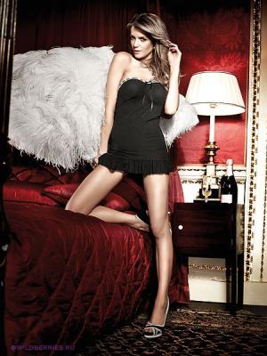 Платье Baci Lingerie. Цвет: черный, белый