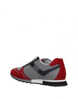 Низкие кеды и кроссовки MOMO DESIGN. Цвет: красный