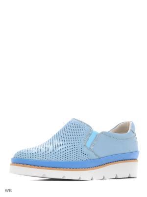 Туфли Covani. Цвет: голубой