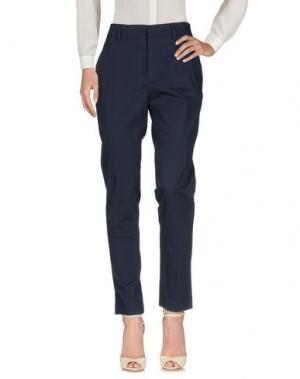 Повседневные брюки AGLINI. Цвет: синий