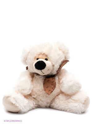 Медведь Артемка  песня Мишка PLUSH APPLE. Цвет: белый