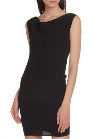 Облегающее платье с воротником-хомутом Liu Jo. Цвет: черный