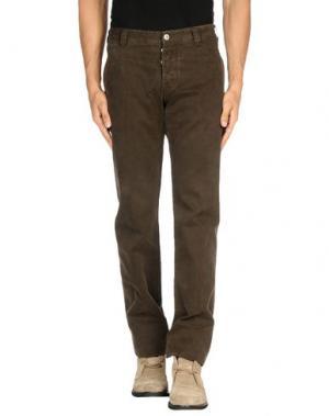 Повседневные брюки J.W. BRINE. Цвет: темно-коричневый