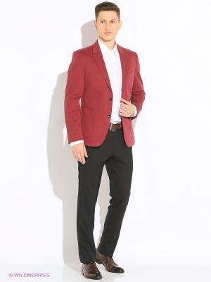 Пиджак MONDIGO. Цвет: бордовый
