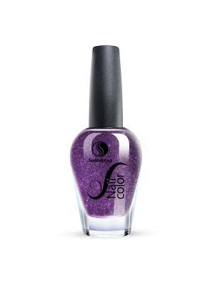 Лак для ногтей Тон SE01 Ночное свидание SOLOMEYA. Цвет: темно-фиолетовый