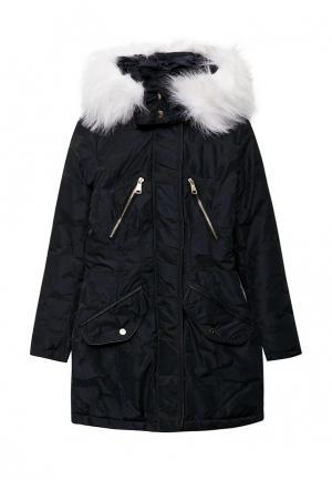 Куртка утепленная Jan Steen. Цвет: синий