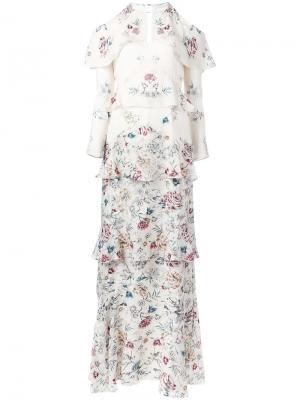 Платье Annabelle Vilshenko. Цвет: телесный