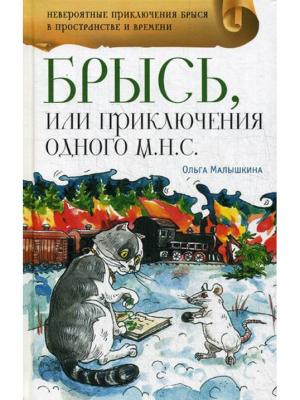 Брысь, или Приключения одного м.н.с.: приключенческая повесть Аквилегия-М. Цвет: белый