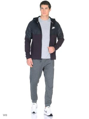Толстовка M NSW AV15 HOODIE FZ SSNL Nike. Цвет: черный
