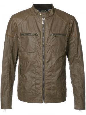 Куртка Weybridge Belstaff. Цвет: зелёный