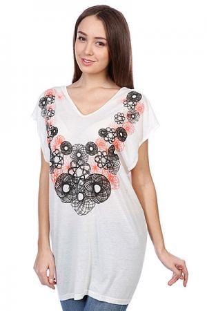 Футболка женская  Eclipsed Dress Ecru Neurotica. Цвет: белый