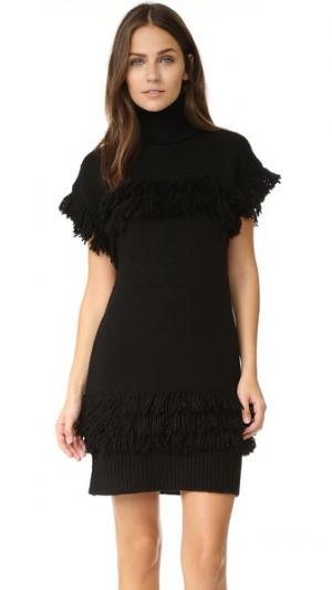 Платье-свитер Teegan Rachel Zoe. Цвет: голубой