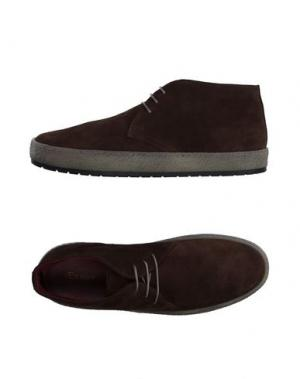 Низкие кеды и кроссовки BAGATT. Цвет: какао