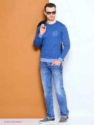 Пуловер PEPE JEANS LONDON. Цвет: темно-синий