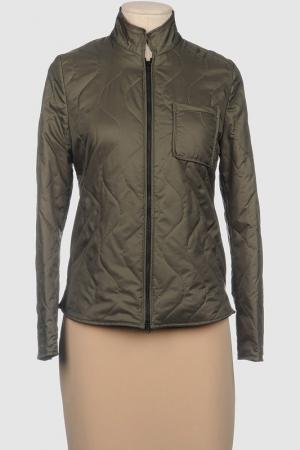 Куртка MERCI. Цвет: зеленый