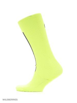 Носки W NK ELT HI OTC Nike. Цвет: салатовый