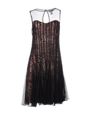 Платье до колена JOSEPH RIBKOFF. Цвет: черный
