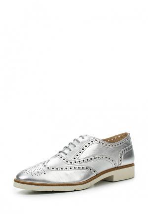 Ботинки JB Martin. Цвет: серебряный