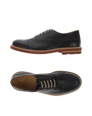 Обувь на шнурках GABARDINE. Цвет: черный