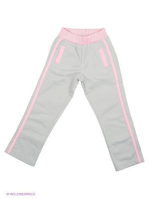 Штаны детские MARIONS. Цвет: серый, розовый