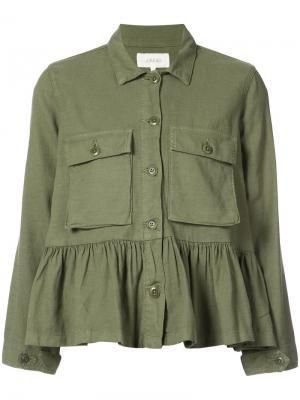 Куртка The Great. Цвет: зелёный