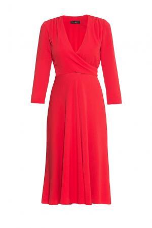 Платье из вискозы 176870 Cyrille Gassiline. Цвет: красный