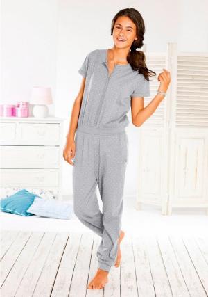 Пижама-комбинезон Otto. Цвет: серый