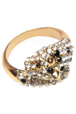 Кольцо BELLA ROSA. Цвет: золотой