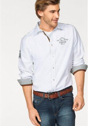Рубашка Rhode Island. Цвет: белый
