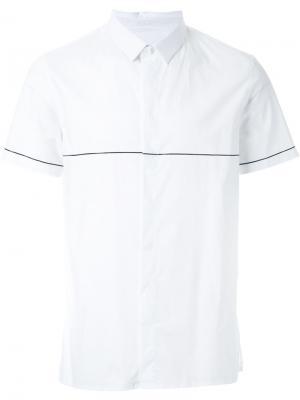 Рубашка с короткими рукавами Cy Choi. Цвет: белый
