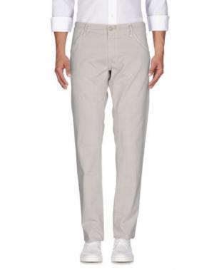 Джинсовые брюки HTC. Цвет: светло-желтый