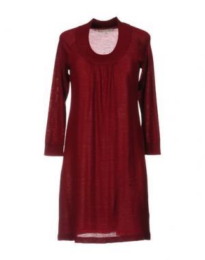 Короткое платье GERARD DAREL. Цвет: кирпично-красный