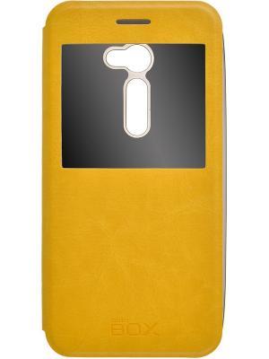 Кейс-книжка для  Asus ZenFone 2 ZE500C 5 skinBOX. Цвет: желтый