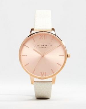 Olivia Burton Часы цвета розового золота OB13BD11. Цвет: кремовый