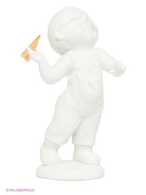 Фигурка Мальчик бисквит Pavone. Цвет: белый