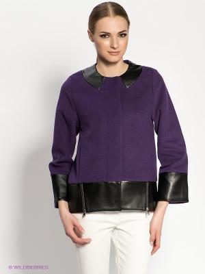 Куртка DOCTOR E. Цвет: фиолетовый, черный