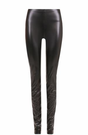 Однотонные брюки-скинни M Missoni. Цвет: черный