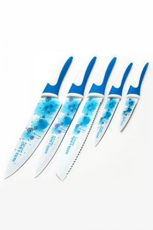 Набор ножей 6 пр. Mayer&Boch. Цвет: голубой