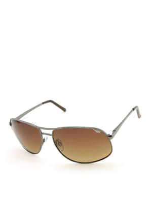 Солнцезащитные очки Legna. Цвет: коричневый (осн.)