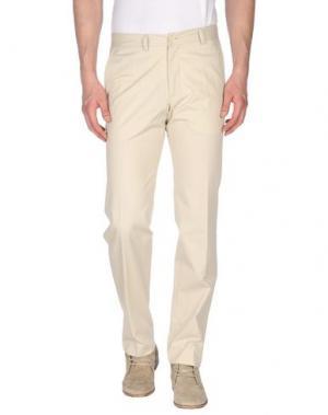 Повседневные брюки MAESTRAMI. Цвет: песочный