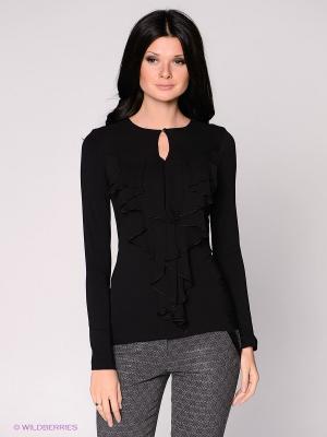 Блузка Yulia Dushina. Цвет: черный, серый