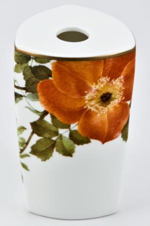 Ваза Ариста Блум Royal Porcelain. Цвет: белый, черный, оранжевый