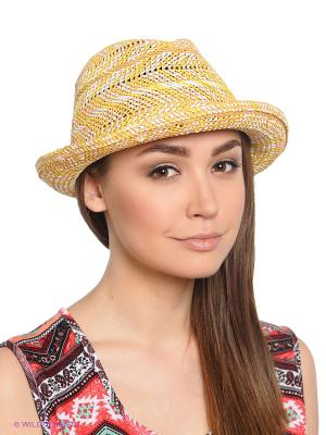 Шляпа ROXY. Цвет: желтый