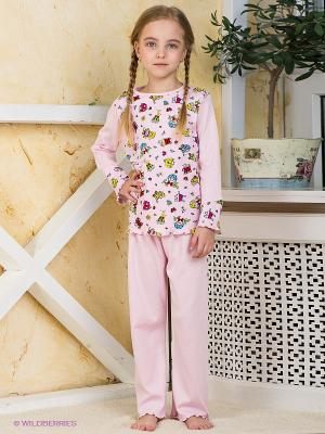 Пижама Хох. Цвет: бледно-розовый
