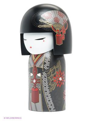 Кукла-талисман Нацуйо (храбрость) Kimmidoll. Цвет: черный