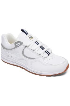 Полуботинки DC Shoes. Цвет: белый